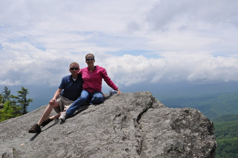 Sitting on the Blowing Rock