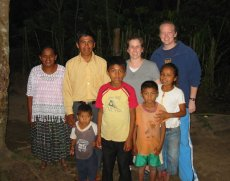 Adoptive Family Photo: Carie on a Trip to Guatemala, click to view bigger version