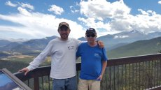 Adoptive Family Photo: Exploring Colorado with His Brother, click to view bigger version