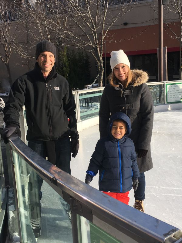 Our First Time Ice Skating