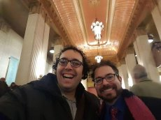 Adoptive Family Photo: A Night Out at the Lyric Opera in Chicago
