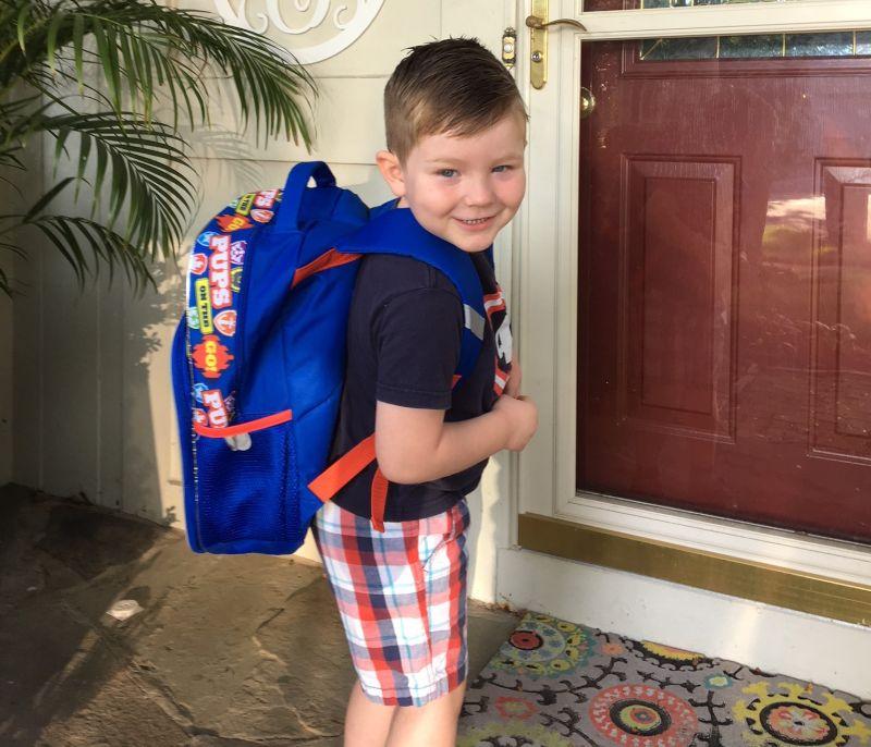 Graham as a Preschooler