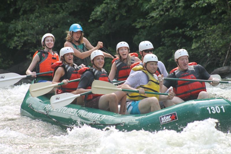 Whitewater Rafting in Tennessee