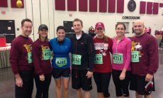 Adoptive Family Photo: Annual Turkey Trot With Megan's Family, click to view bigger version