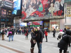 Adoptive Family Photo: NYC - Times Square, click to view bigger version