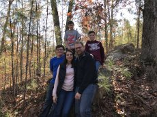 Adoptive Family Photo: Hiking With Our Nephews, click to view bigger version