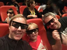 Adoptive Family Photo: Legoland Movie!