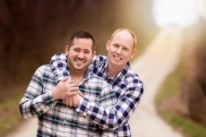 Adoptive Family Bret and Shane