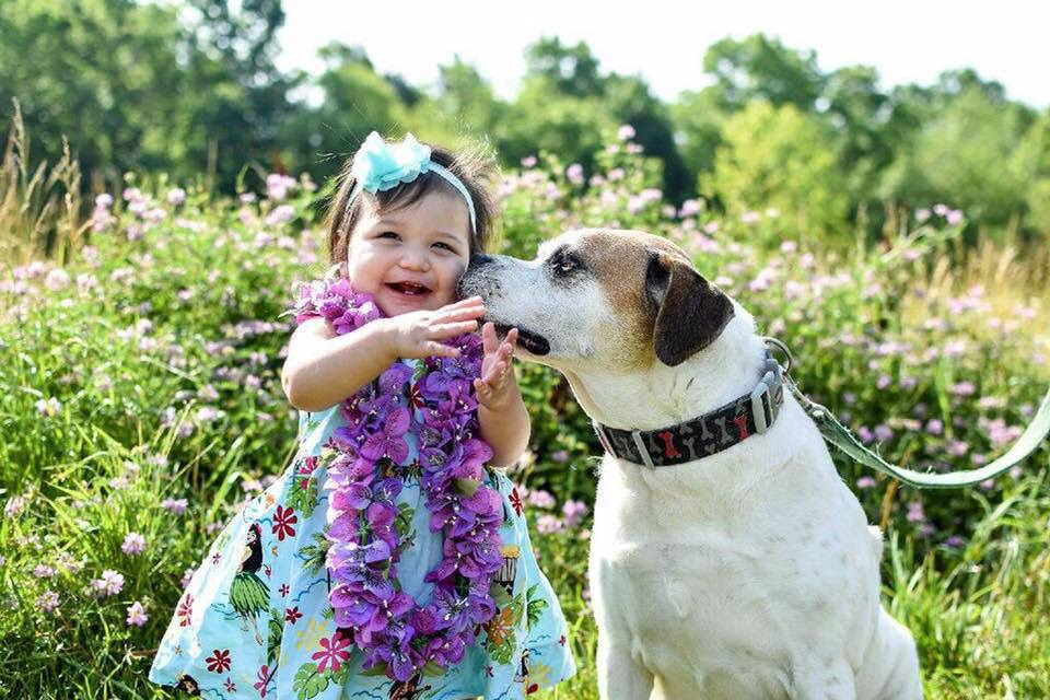 Amelia and Our Dog Max are Best Buddies