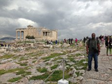 Adoptive Family Photo: Visiting Athens, click to view bigger version