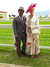 Adoptive Family Photo: Attending the Royal Ascot, click to view bigger version