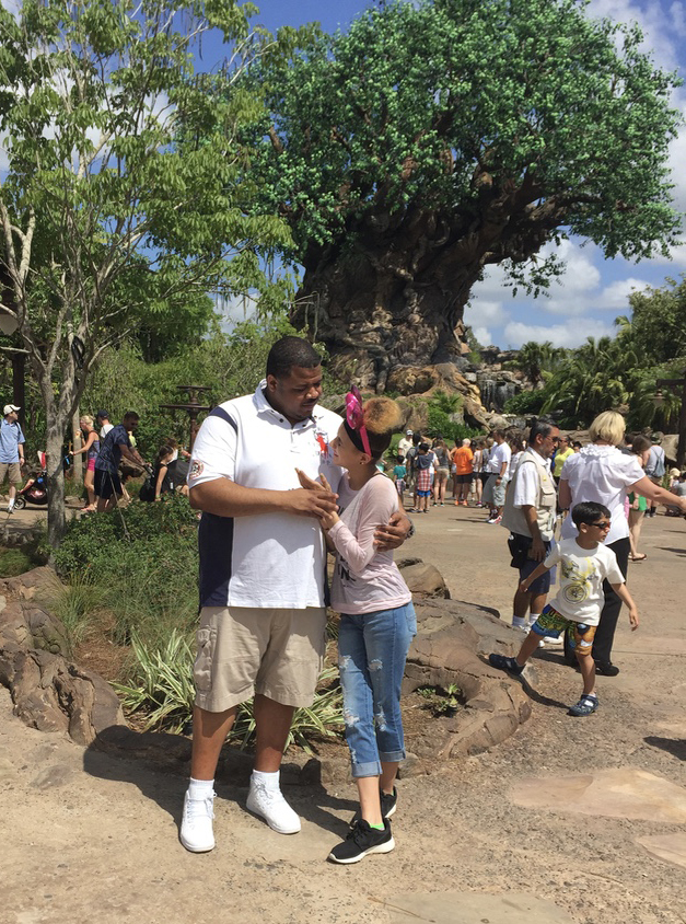 Father-Daughter Time at Disney World