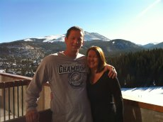 Adoptive Family Photo: Enjoying the Snow & Sunshine in Breckenridge, click to view bigger version