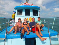 Adoptive Family Photo: Amazing Family Vacation in Thailand, click to view bigger version