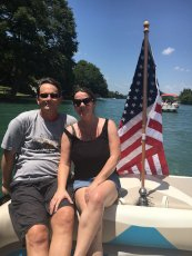 Adoptive Family Photo: Fourth of July on the Lake, click to view bigger version