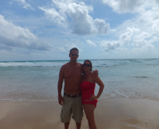 Adoptive Family Photo: A Romantic Walk on the Beach in Phuket, click to view bigger version