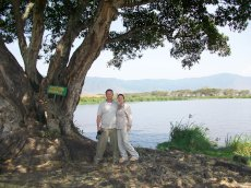 Adoptive Family Photo: On Safari in Tanzania