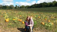 Adoptive Family Photo: Pumpkin Patch, click to view bigger version