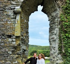 Adoptive Family Photo: Castle Ruins in Ireland, click to view bigger version
