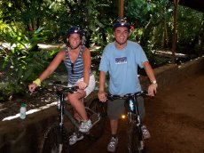 Adoptive Family Photo: Mountain Biking in St. Lucia, click to view bigger version