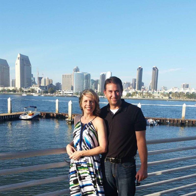 Enjoying the San Diego Skyline