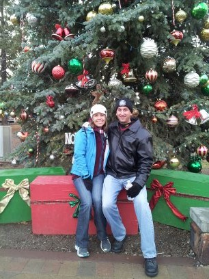 Christmas in the Mountains of Big Bear