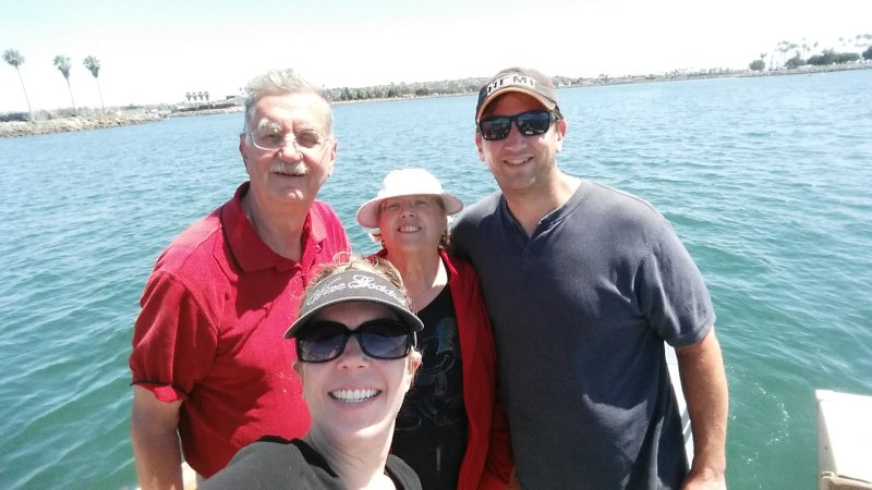 Boating With Robert's Parents