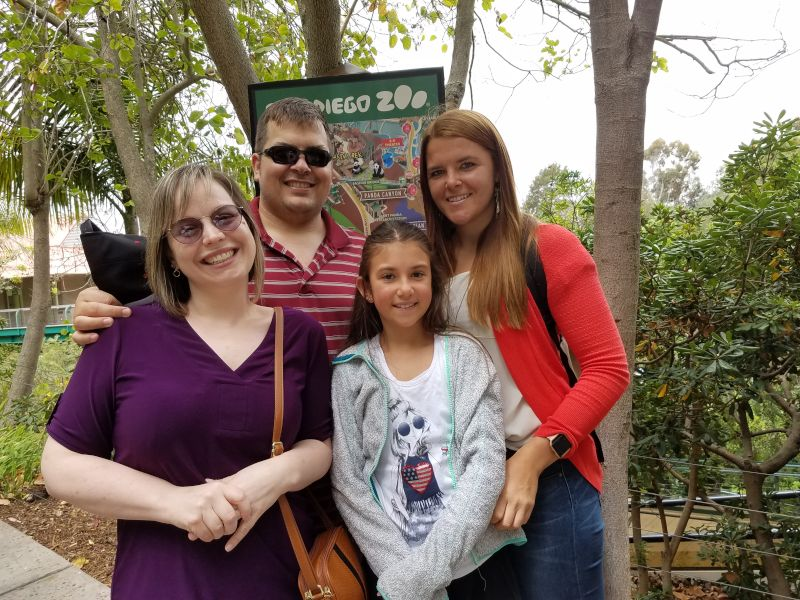 Fun at the San Diego Zoo With Our Nieces