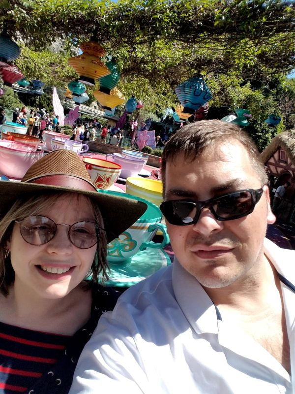 A Great Day Together at Disneyland
