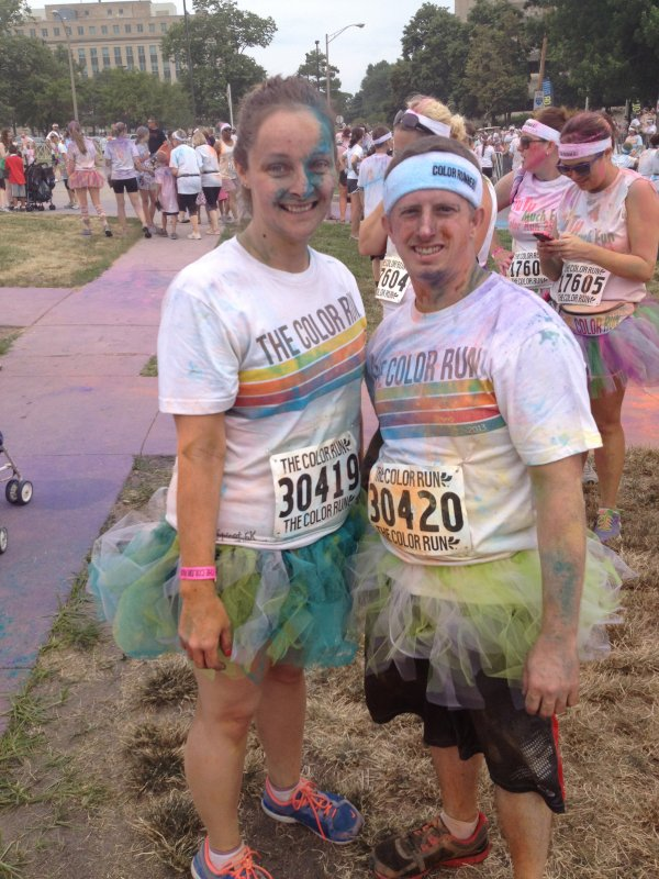 Just Finished the Color Run