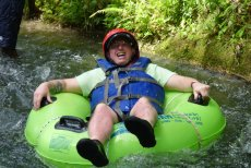 Adoptive Family Photo: Tubing in Jamaica, click to view bigger version