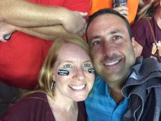 Adoptive Family Photo: Go Hokies!, click to view bigger version
