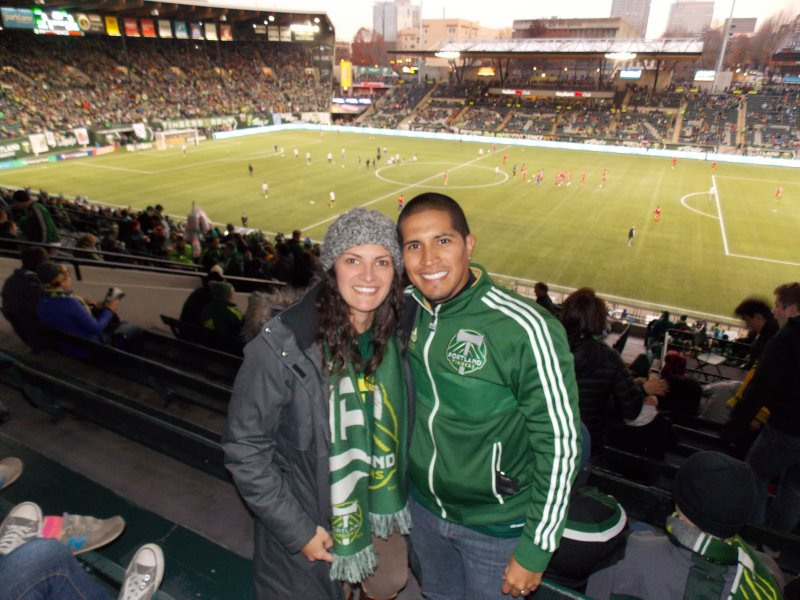 Go Portland Timbers!