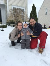 Adoptive Family Photo: Snow Day!, click to view bigger version