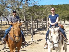 Adoptive Family Photo: Going on a Horseback Adventure, click to view bigger version