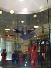 Adoptive Family Photo: Jerry Indoor Skydiving, click to view bigger version