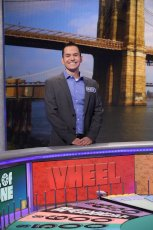 Adoptive Family Photo: Matt on Wheel of Fortune, click to view bigger version