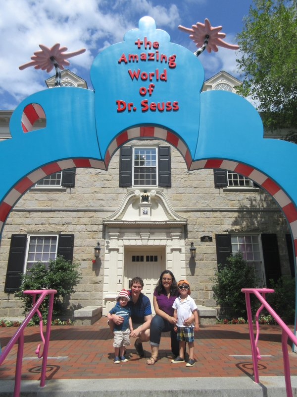 Family Trip to the Dr. Seuss Museum