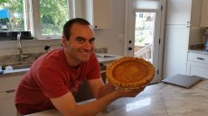 Adoptive Family Photo: Prize-Winning Pie!, click to view bigger version