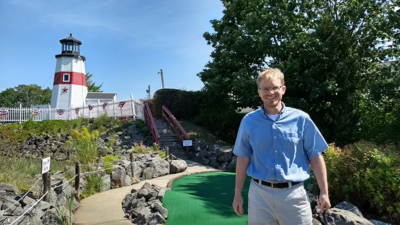A Fun Afternoon of Mini Golf