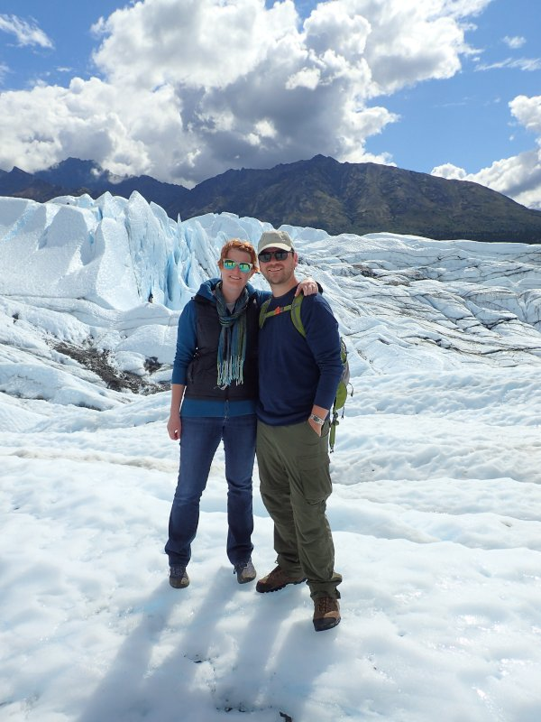 Hiking an Alaskan Glacier