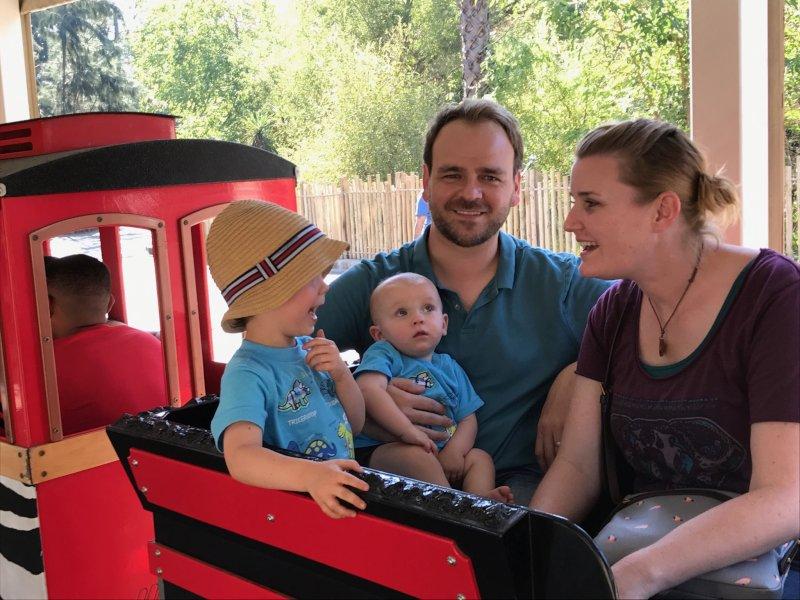 Train Ride Through the Zoo