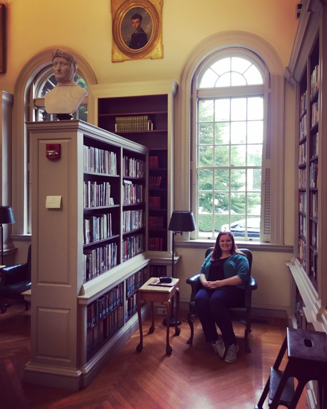 Visiting a Famous Library in Rhode Island