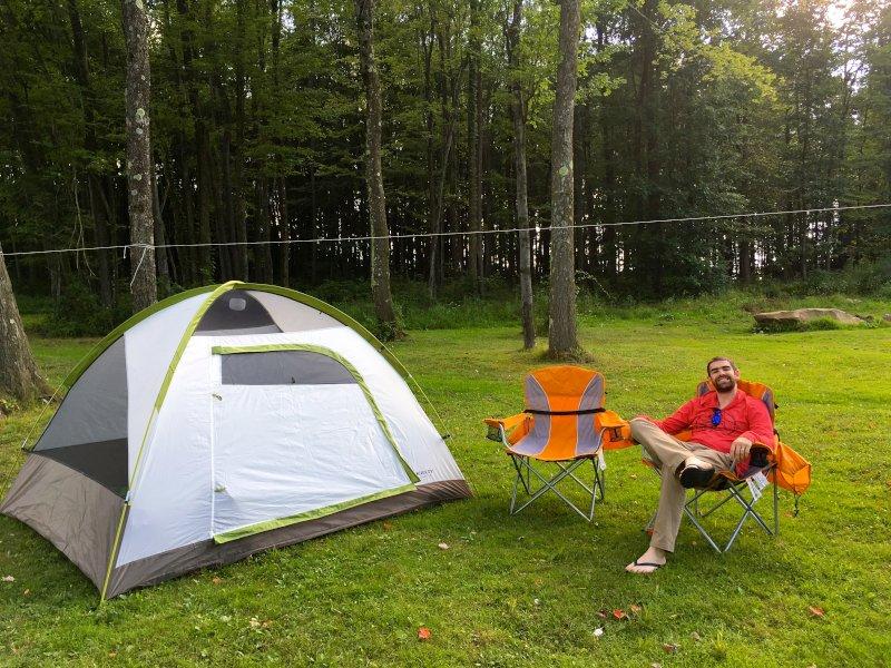 Camping in Pennsylvania!