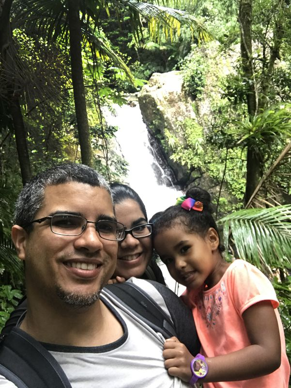 Hiking in the Rain Forest
