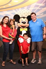 Adoptive Family Photo: Disney Vacations Are Our Favorite, click to view bigger version