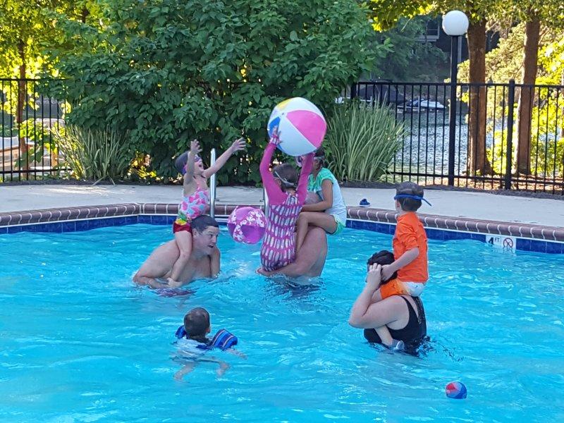 Always Fun Times in the Pool