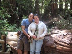 Adoptive Family Photo: Exploring Muir Woods