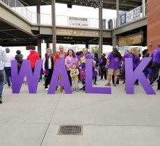 Adoptive Family Photo: We Walk to Support the End of Alzheimer's