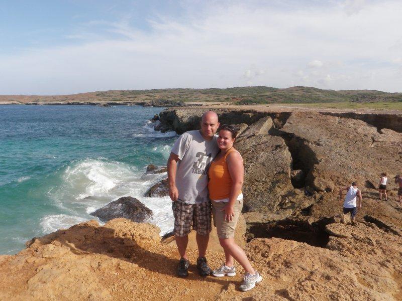 Enjoying the View in Aruba